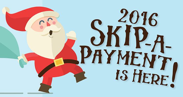 2016 Skip-a-Payment