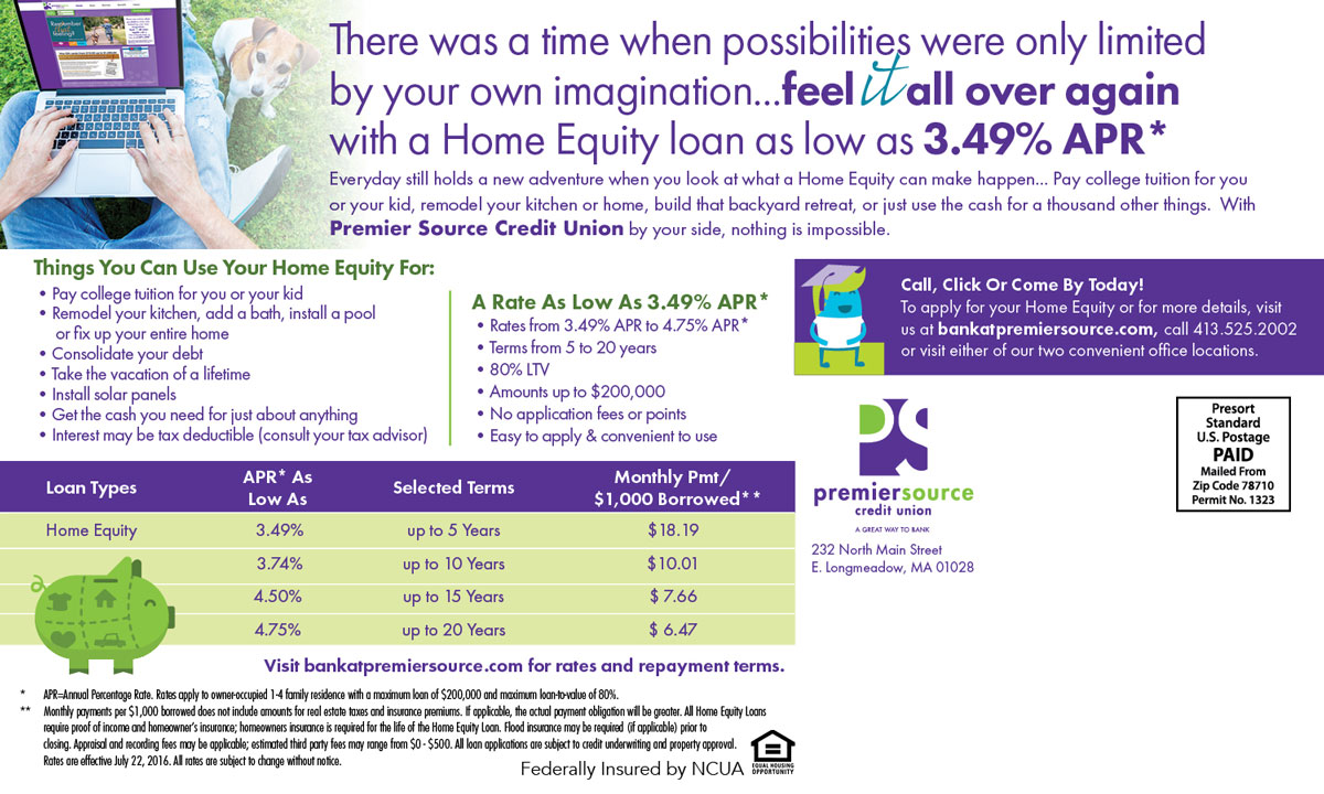 Direct Mail – Home Equity Postcard