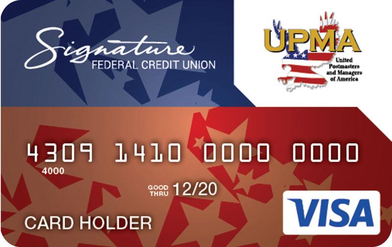 Signature UPMA Card 2