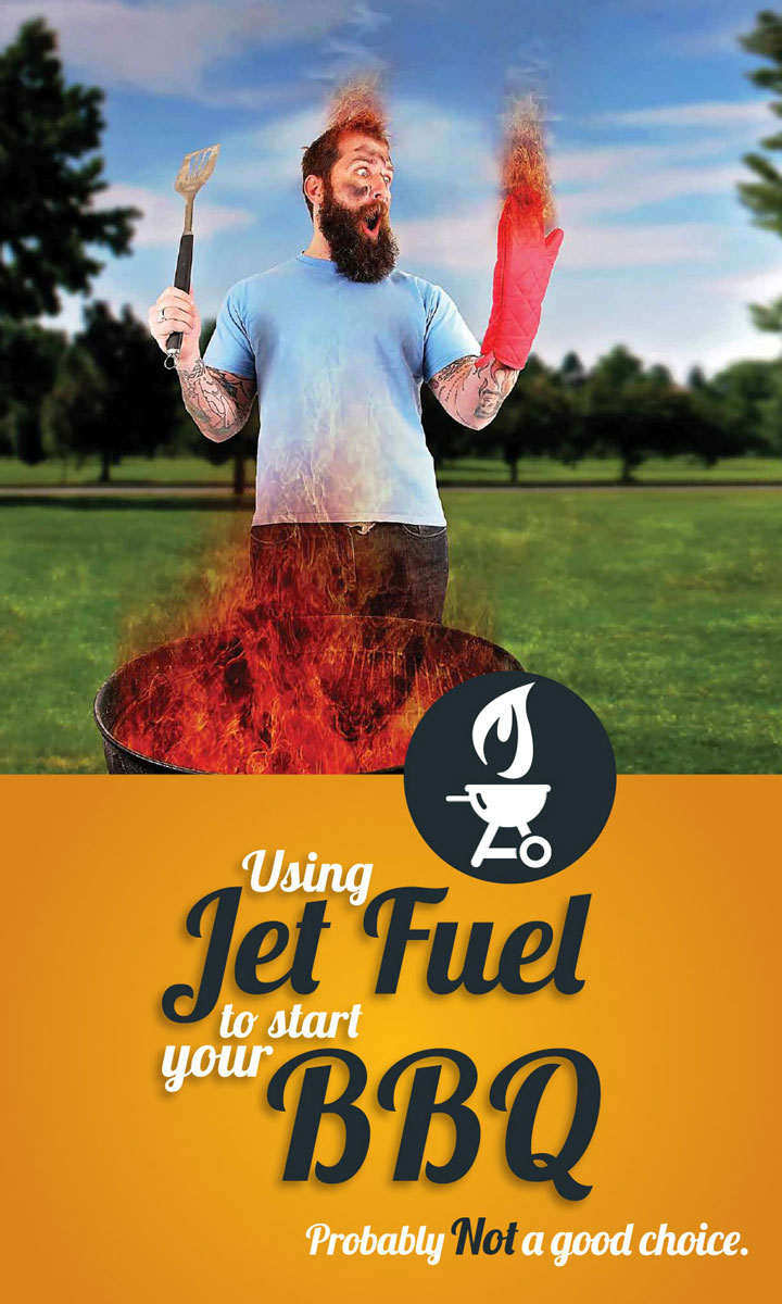 Great Choice – Jet Fuel Cover