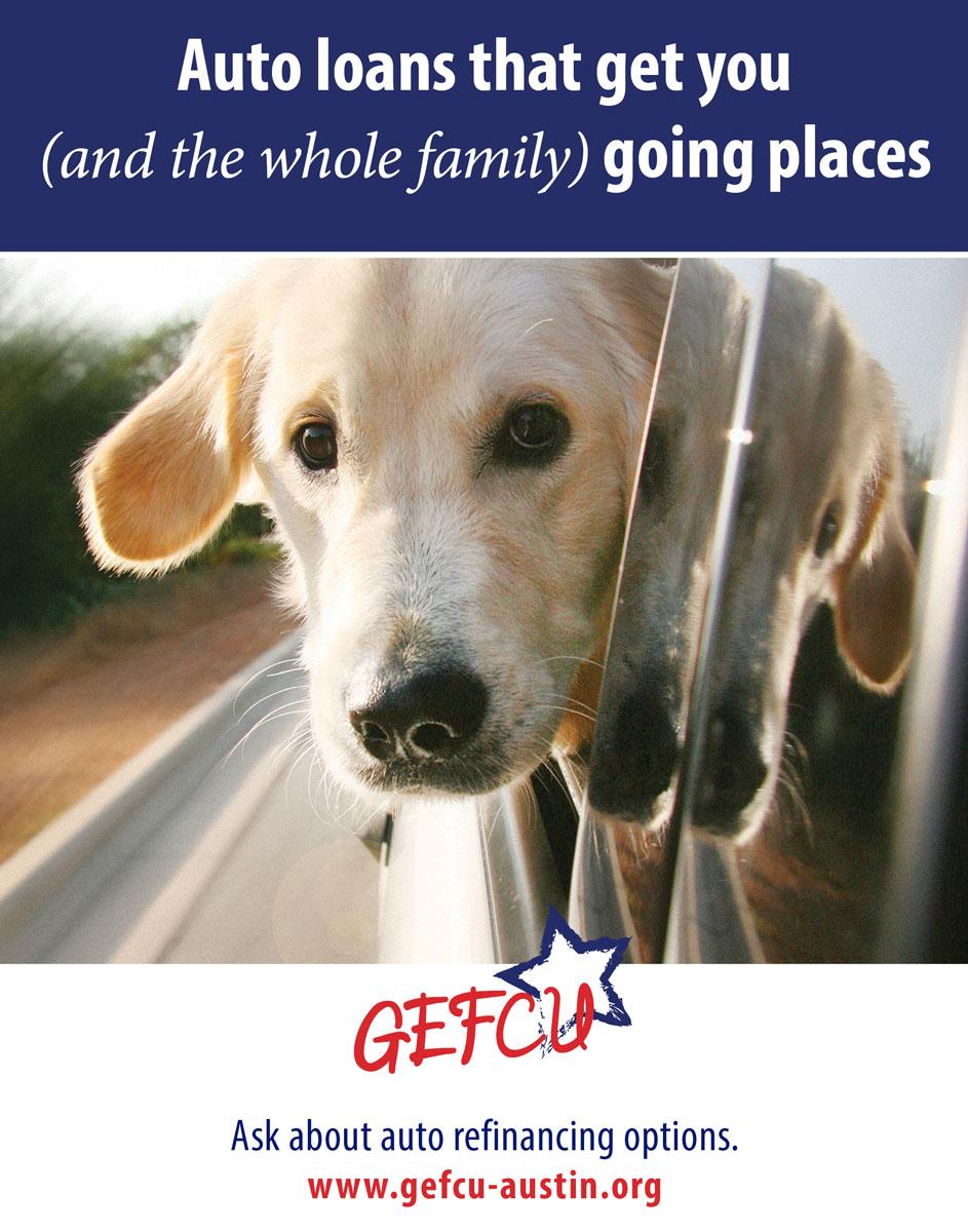 GEFCU Poster – Auto Loans