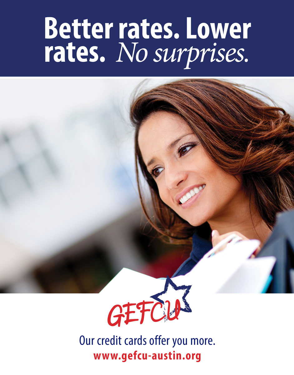 GEFCU Poster – Better Rates