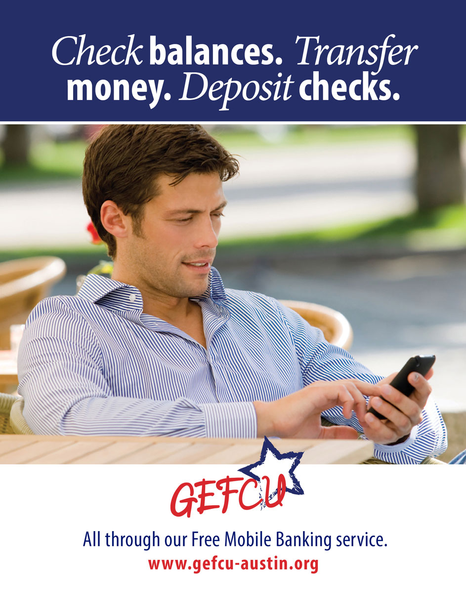 GEFCU Poster – Mobile Checking 2