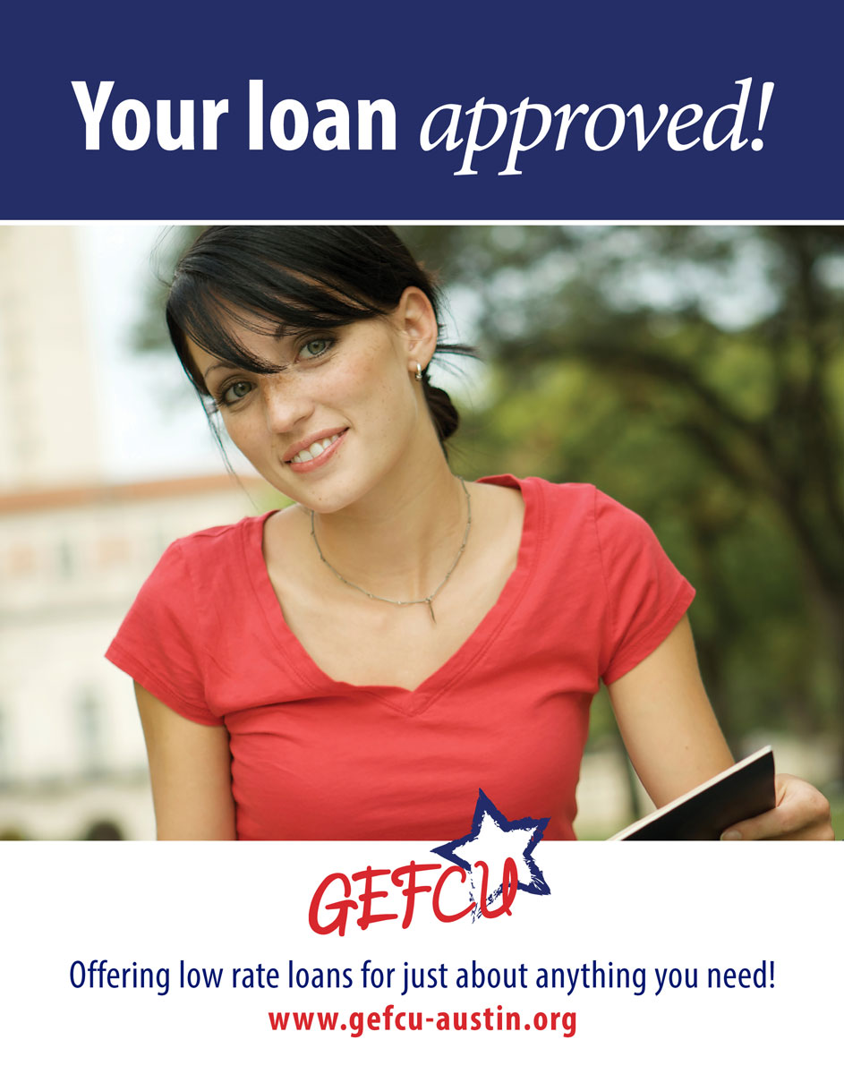 GEFCU Poster – Loan Approved