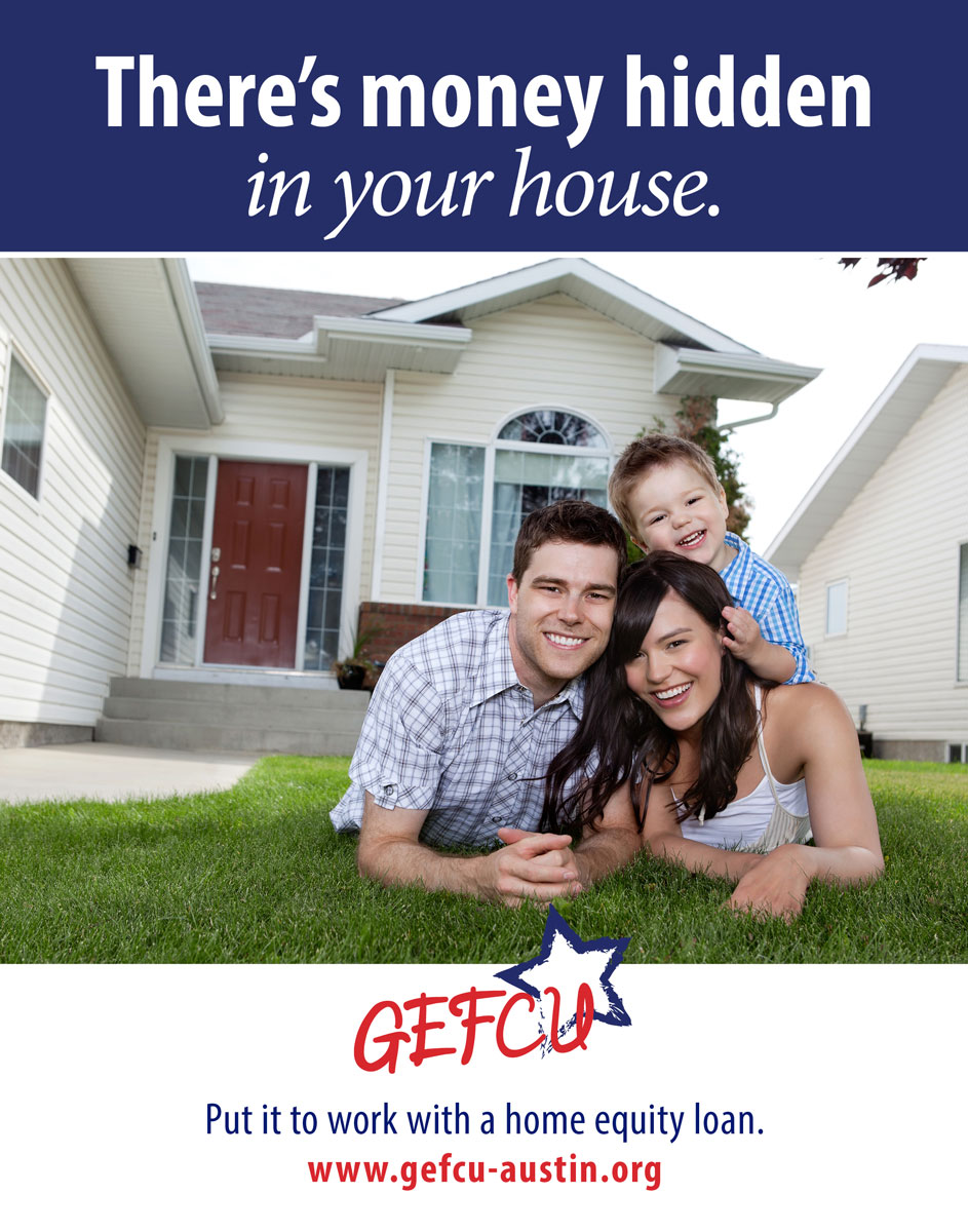 GEFCU Poster – Home Equity Loans