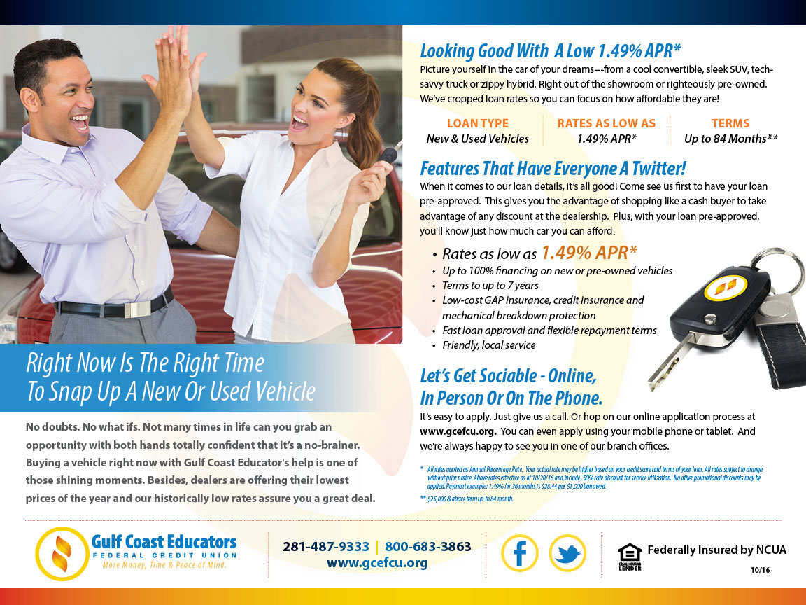Gulf Coast Direct Mail – Auto 2