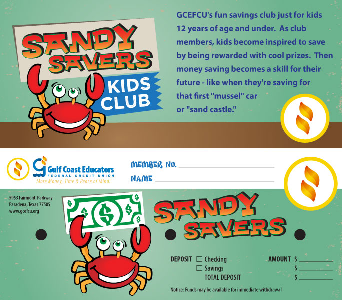 Gulf Coast Sandy Savers Envelope