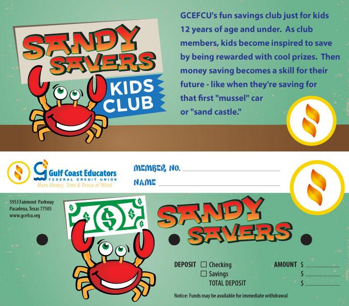 Gulf Coast Sandy Savers Envelope