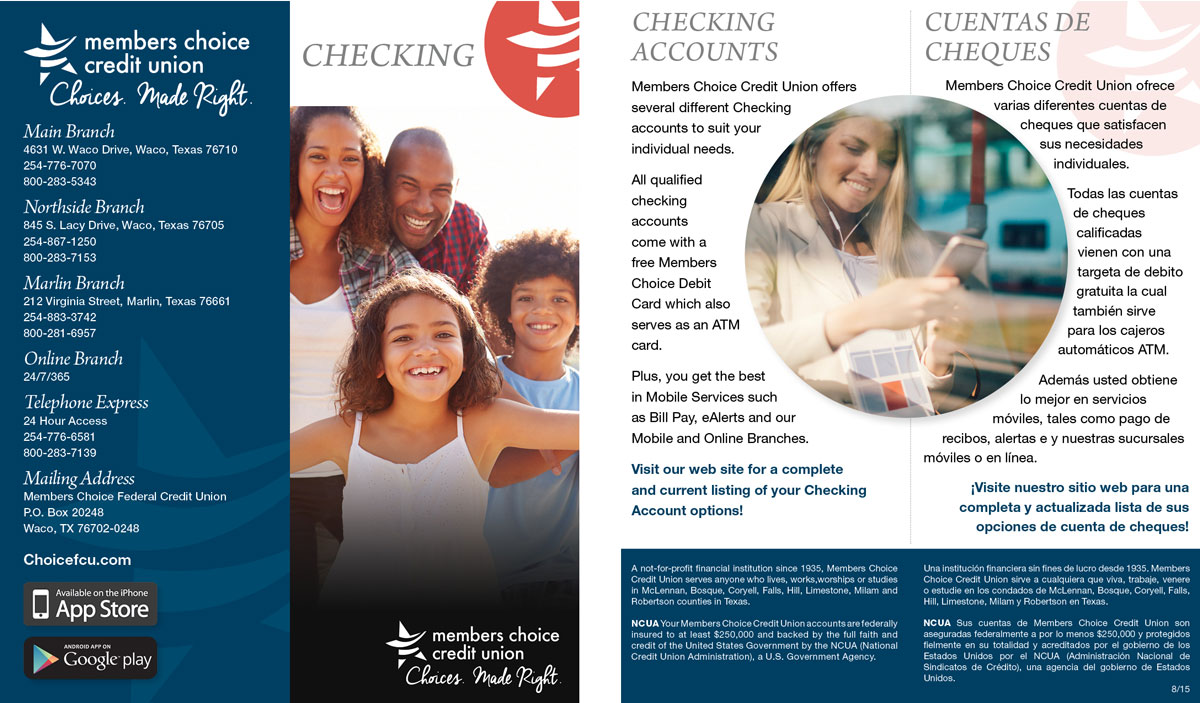 Brochure – Checking
