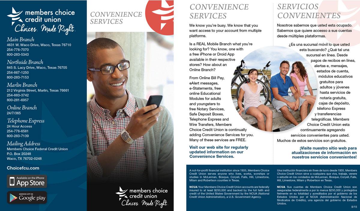 Brochure – Convenience