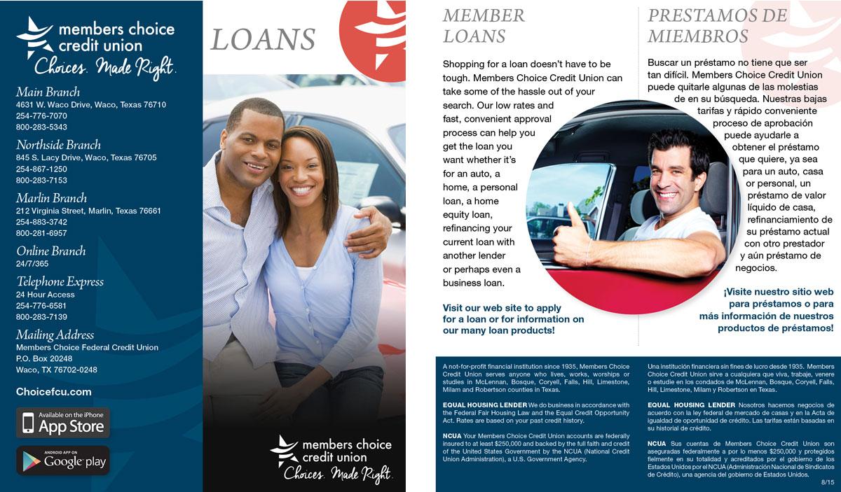 Brochure – Loans