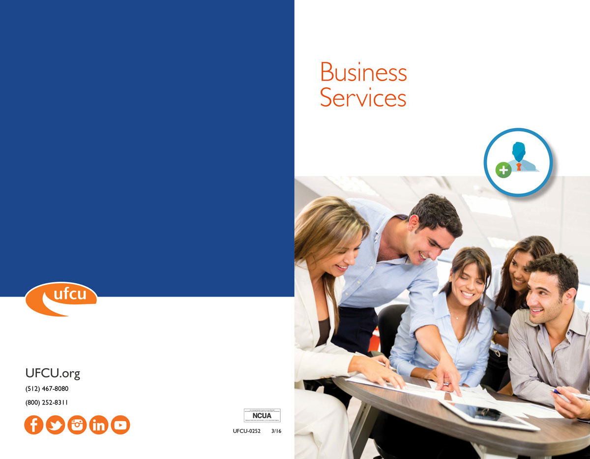 Business Services Lobby Brochure Cover