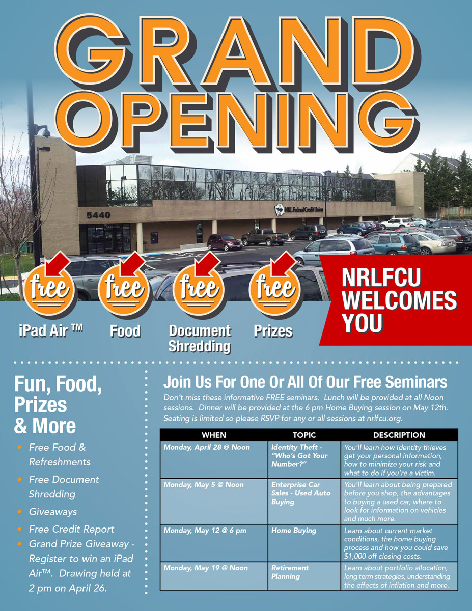 Grand Opening Ad 1