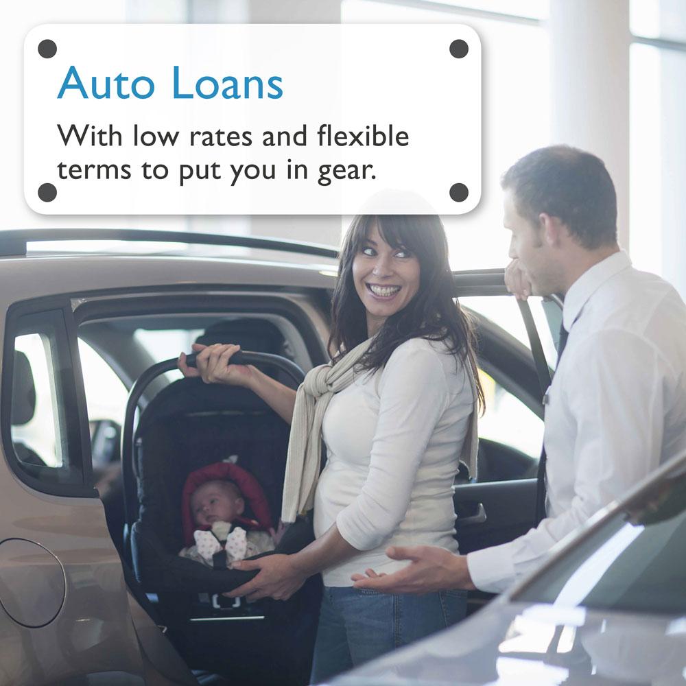 Auto Loan Lobby Banner