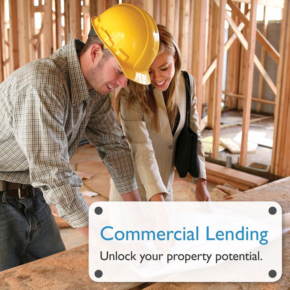 Commercial Lending Lobby Banner